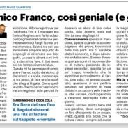 Il mio amico Franco su Quotidiano Nazionale